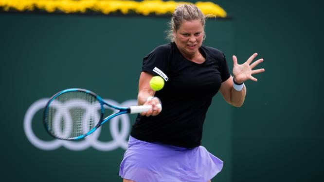 """Kim Clijsters ook in Indian Wells meteen onderuit in eerste ronde: """"Waarom zou ik opgeven?"""""""