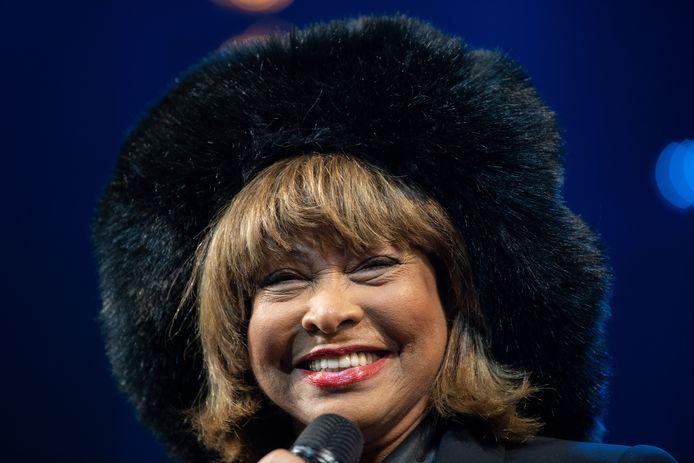 Tina Turner in maart van dit jaar
