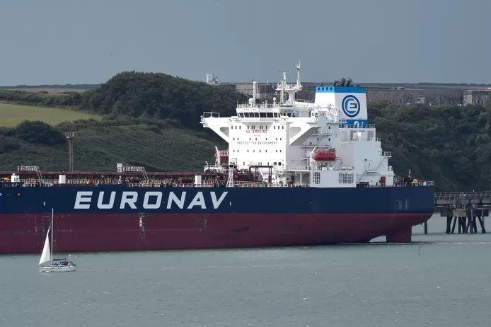Un pétrolier de la compagnie maritime Euronav (archives).