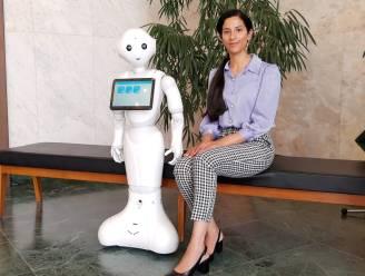 """Robot Pepper leert je gebarentaal: """"Neem hem gerust gratis mee naar huis"""""""