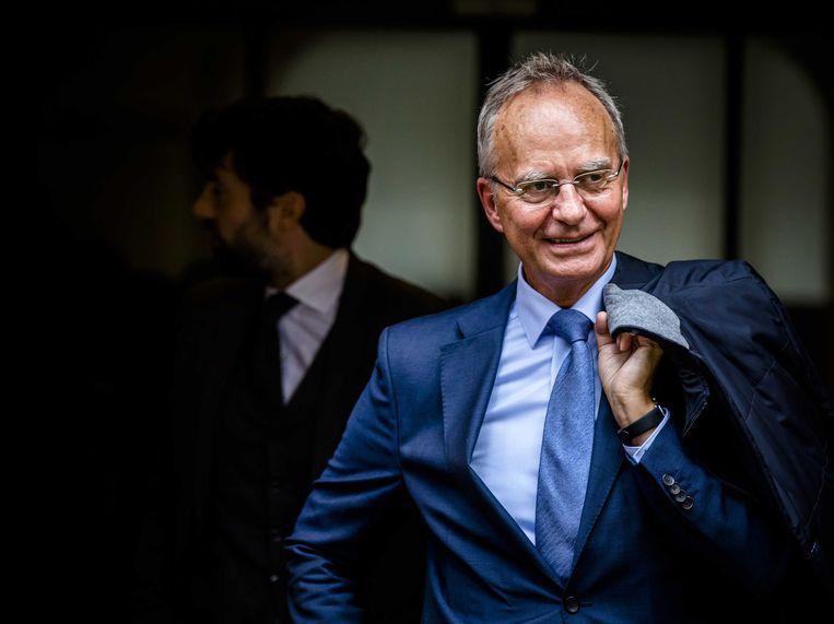 Henk Kamp, hier in 2017, als minister van economische zaken.  Beeld ANP