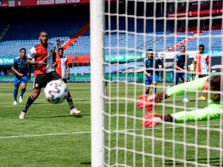 LIVE | Ajax verdedigt in Klassieker met tien man kleine voorsprong, wat kan Feyenoord nog?