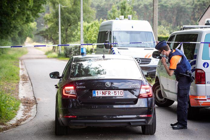 Jurgen Conings gevonden in Dilserbos in Dilsen.