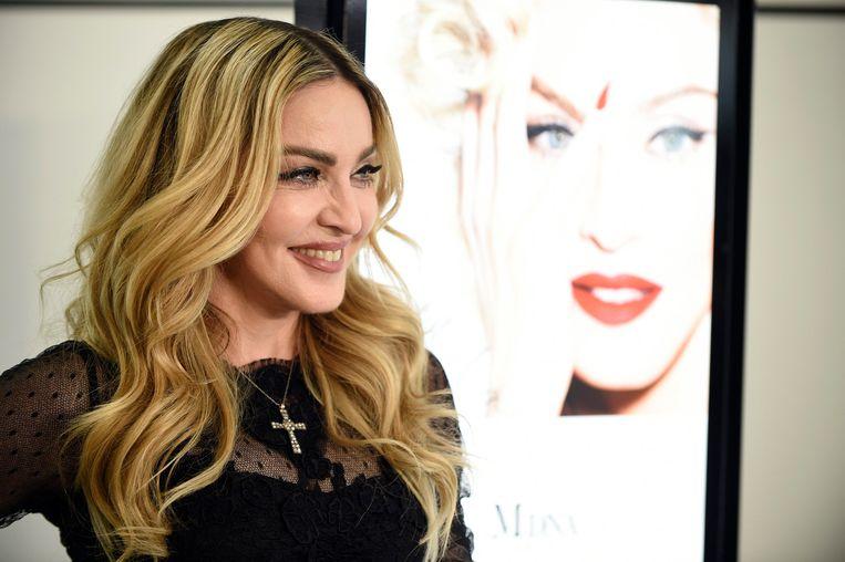 Madonna doet haar boekje open over Harvey Weinstein Beeld EPA