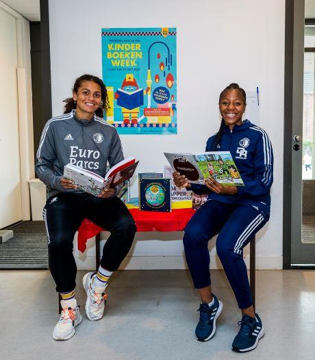 Aparte voorbereiding Feyenoord-speelsters Celainy Obispo en Jacintha Weimar op kraker tegen PSV