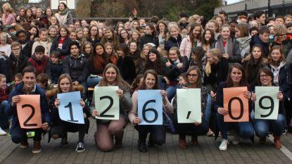 College zamelt 2.126 euro in voor Rode Neuzen