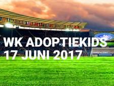 Honderden adoptiekids voetballen in Vianen op WK