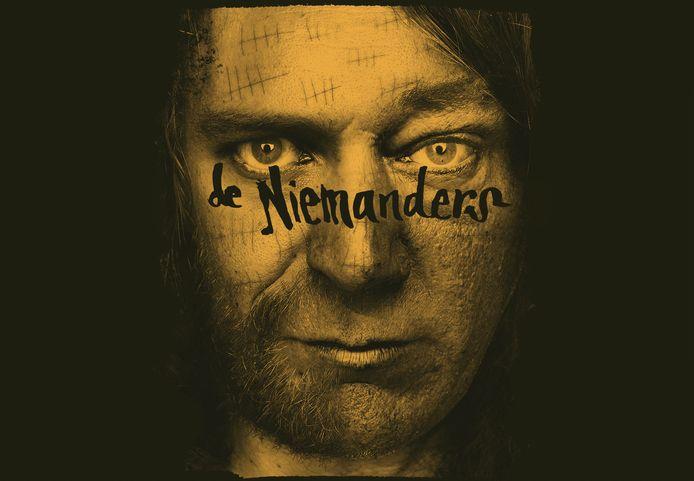 Coverbeeld van de Niemanders, een samenvoeging van de gezichten van Rocco Ostermann en Wout Kemkens.