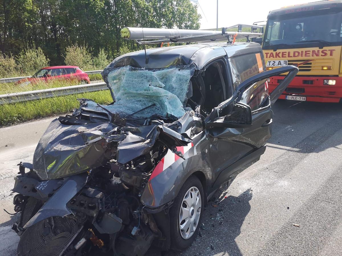 Op 20 mei gebeurde er nog een zwaar ongeval op de E313.