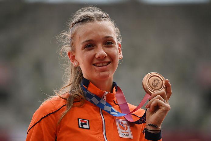 Brons: Femke Bol (atletiek, 400m horden, vrouwen)