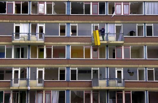In Hoogvliet zijn duizenden woningen gesloopt.