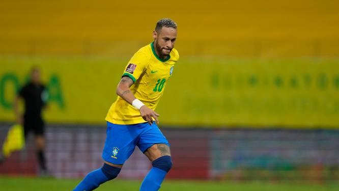 Neymar ziet WK in Qatar als zijn laatste: 'Weet niet of ik het mentaal nog aankan'