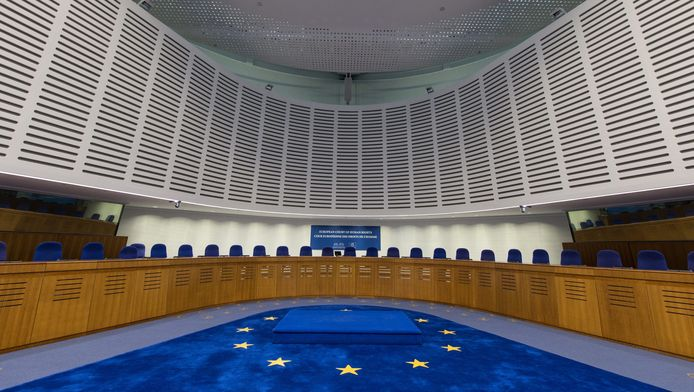 Het Europees Hof voor de Mensenrechten in Straatsburg.