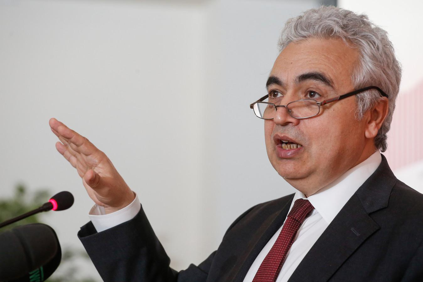 IEA-directeur Fatih Birol.