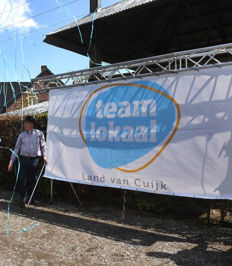 Dorpspartijen in het Land van Cuijk gaan samen: team lokaal moet het gaan doen