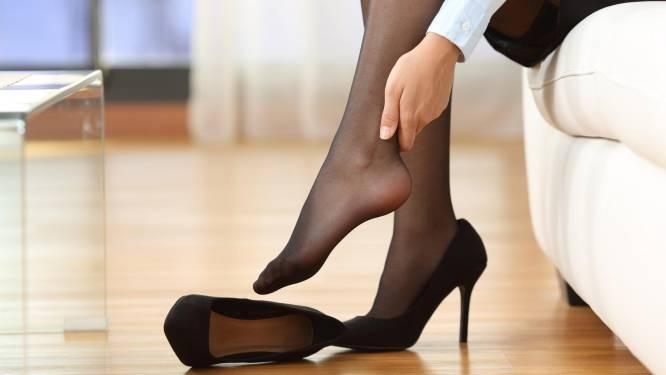 Dit is waarom sommige vrouwen zonder pijn hakken kunnen dragen
