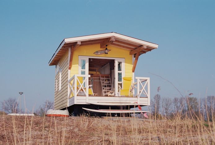 Tiny House Yellow Schoonhoven.