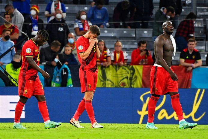 Jan Vertonghen aura du mal à digérer cette élimination contre l'Italie.
