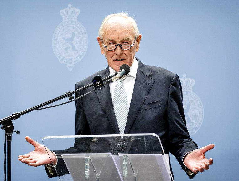 Informateur Johan Remkes. Beeld ANP