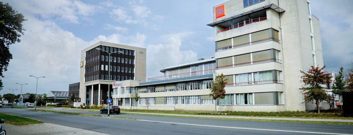 Het hoofdkantoor van Hendriks Bouw en Ontwikkeling aan de Kanaalstraat in Oss. Het bouwbedrijf zag kans de winst in 2020 te verdubbelen.