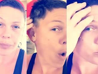 Oeps: P!nk wordt dronken tijdens quarantaine en scheert al haar haren af