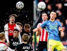 Dit is het resterende programma van Ajax, AZ, Feyenoord en PSV