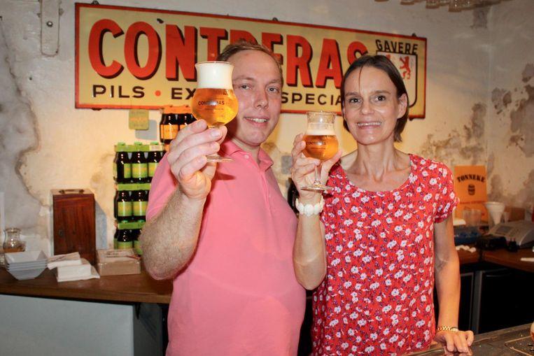 Frederik De Vrieze werd niet enkel verliefd op Ann Contreras, maar ook op de brouwerij.