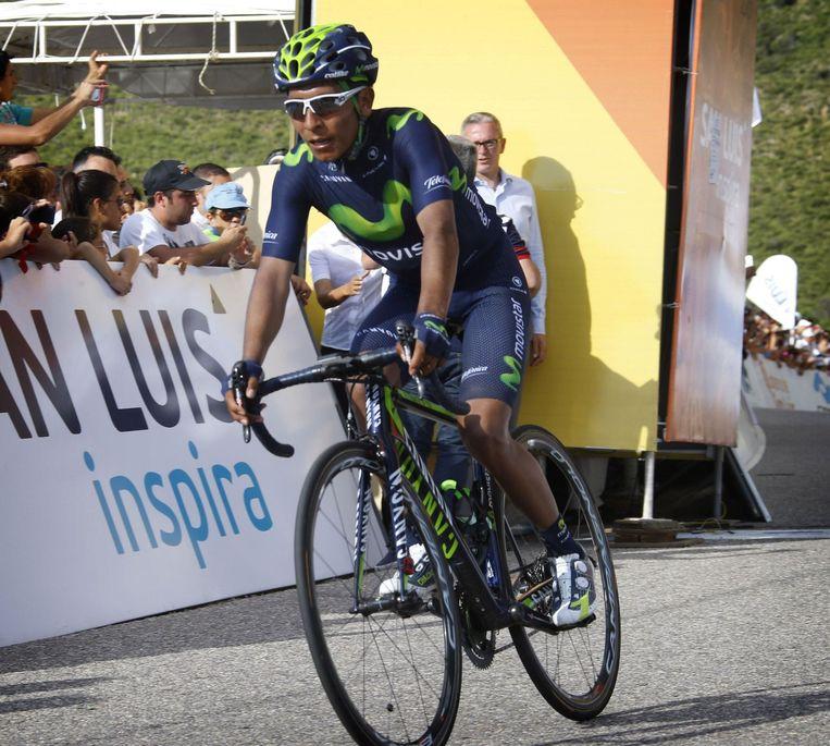 Nairo Quintana finishte als zevende Beeld PHOTO_NEWS