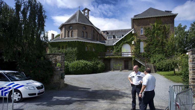 Het klooster waar mogelijk Michelle Martin, de ex-vrouw van kinderverkrachter en moordenaar Marc Dutroux, na haar vrijlating haar intrek zal nemen. Beeld ANP