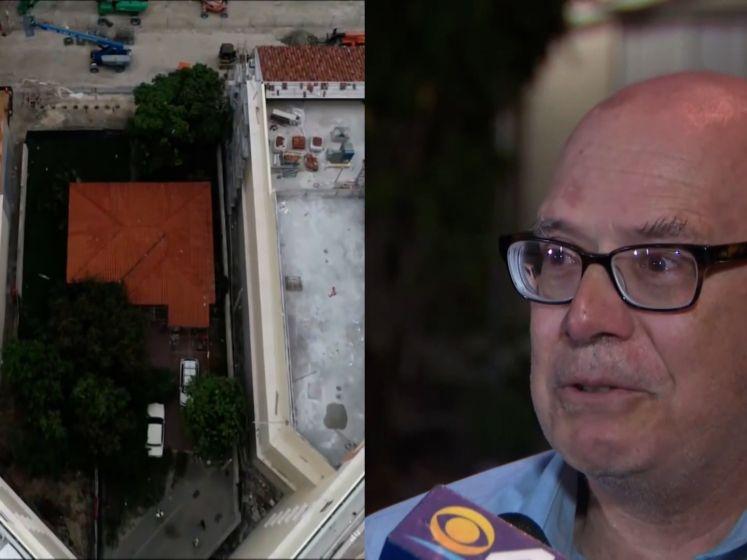 Man weigert om huis te verkopen aan projectontwikkelaars: woning volledig omsingeld door nieuwbouwproject