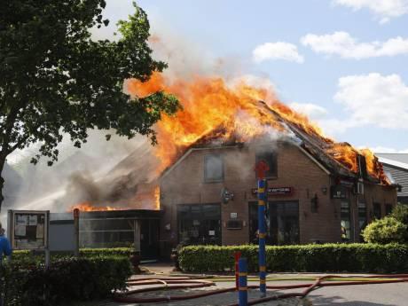 Dorpshuis Lierderholthuis maakt in sneltreinvaart plannen voor wederopbouw afgebrand café