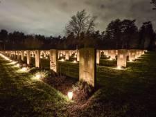 Dit jaar wél 2400 lichtjes en publiek op de erevelden in Bergen op Zoom: 'In principe zonder coronacheck'