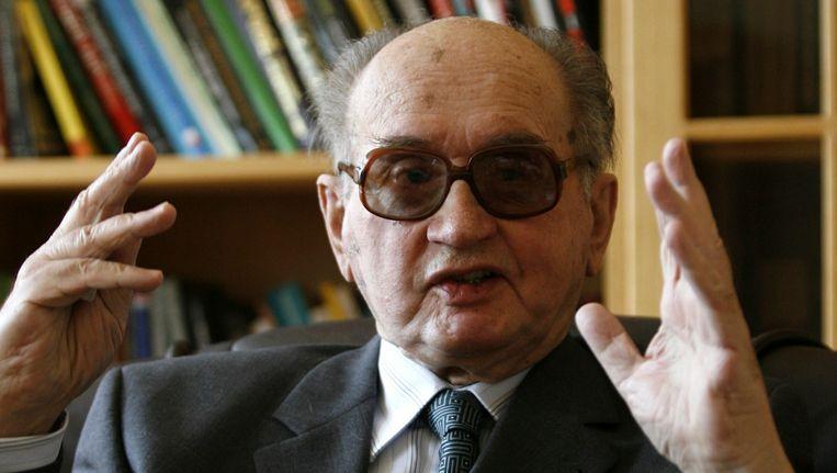 Archiefbeeld van Jaruzelski uit mei 2008.