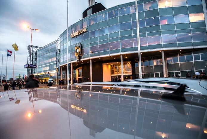 GelreDome Arnhem waar Heroesdome in eerste instantie gehouden zou worden.
