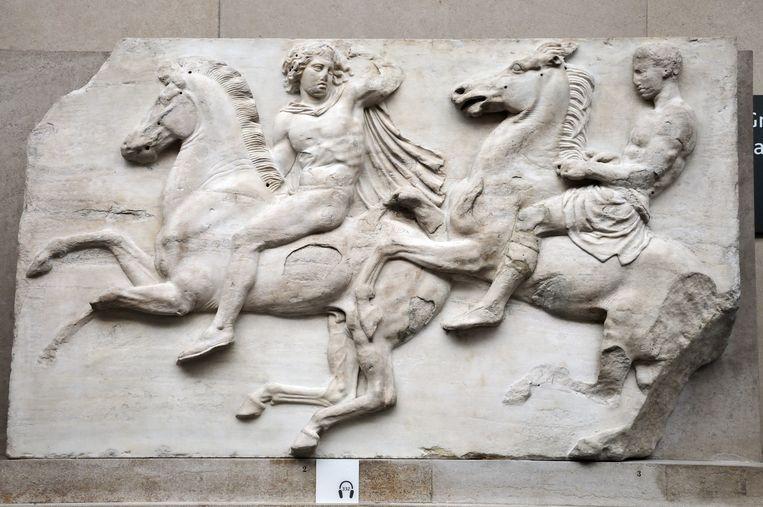 Parthenon-friezen uit Athene in het British Museum. Griekenland wil deze ook al decennia terug. Beeld Phil Robinson