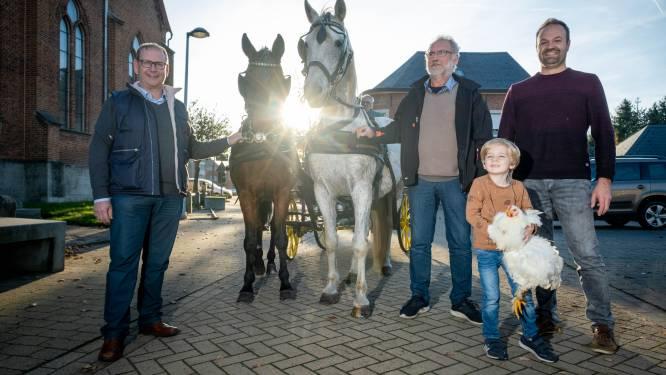 """Landelijke Gilde organiseert Sint-Hubertusviering met zegening van brood, bos en dieren. """"Zelfs de knuffels van de allerkleinsten worden gezegend"""""""