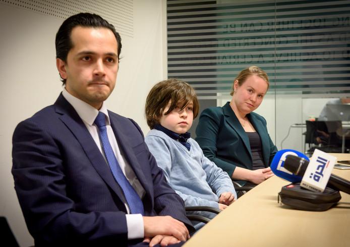 Laurent Simons met zijn ouders