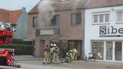 Honden net op tijd gered bij appartementsbrand in Termolen