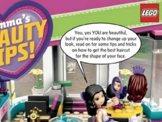 Ouders boos om schoonheidstips van Lego voor jonge meisjes