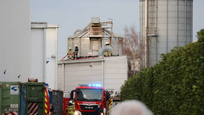 Arbeider van Ontex raakt verbrand na zware steekvlam in silo