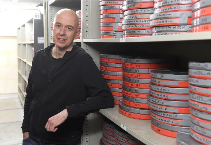 Alain Van Driessche, volgens sportjournalist Filip Joos 'de beste archivaris van Europa'.