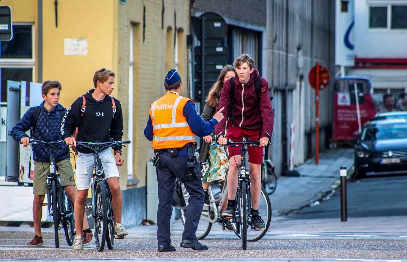 De helft van de fietsen is niet in orde.