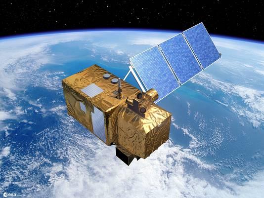 Een van de satellieten van het instituut Copernicus