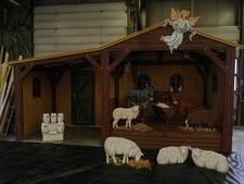 Nieuwe kerststal Bergen op Zoom onthuld