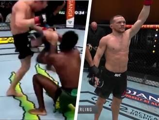 """UFC-wereld ontstemd nadat Rus zijn opponent """"walgelijke"""" kniestoot in gezicht geeft tijdens titelmatch in Vegas"""
