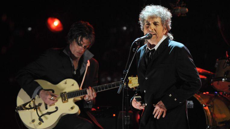 Bob Dylan staat op zijn 74ste nog altijd op podia overal ter wereld. Geldt zo'n Neverending Tour binnenkort voor alle werknemers? Beeld WireImage