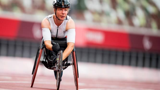 """Paralympiër Joyce Lefevre vecht tegen tranen na zevende plaats op 100m: """"Ik verwachtte hier veel meer van"""""""