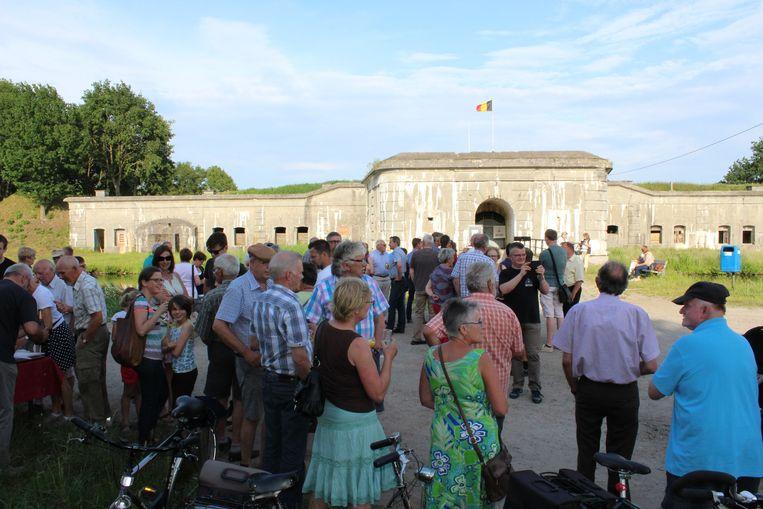 Het fort van Kessel was het decor voor Ten Velde.