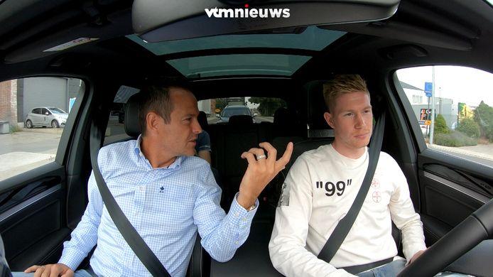 Gilles De Bilde carpoolt met Kevin De Bruyne