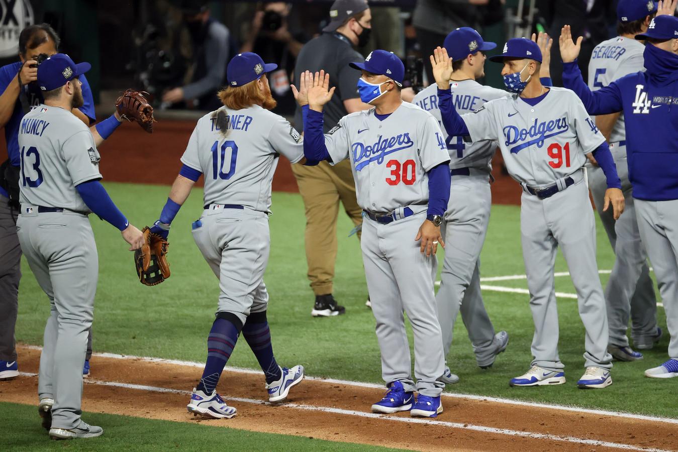Los Angeles Dodgers komt opnieuw op voorsprong in de World Series.